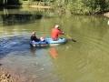 Paul in boat